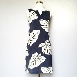 Banana Republic Leaf Print Shift Dress